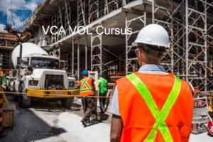 VCA VOL cursus